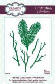 Sue Wilson Craft Dies - Festive Collection - Pine Bough – CED3015